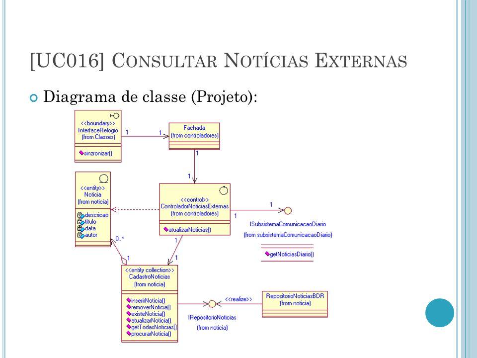 [UC016] Consultar Notícias Externas